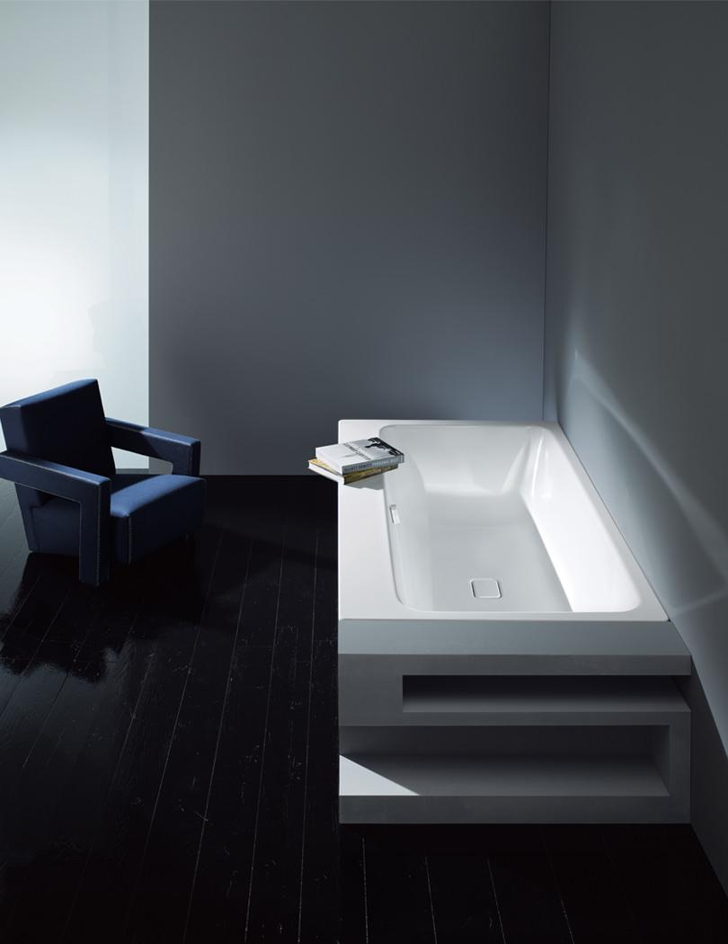 Kaldewei Asymmetric Duo 742 Steel Enamelled Bath 1800 X 900mm