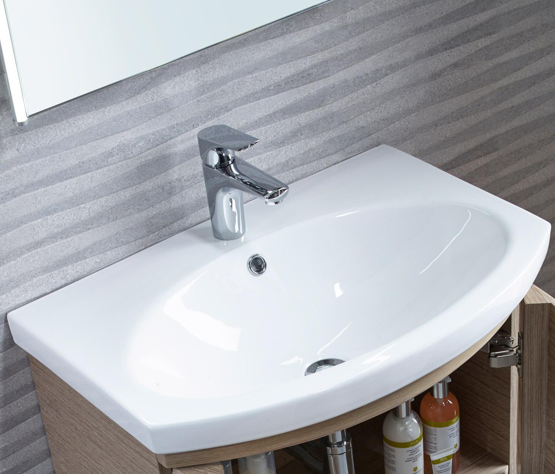 Tavistock Tempo 650mm Gloss White Freestanding Unit With Basin