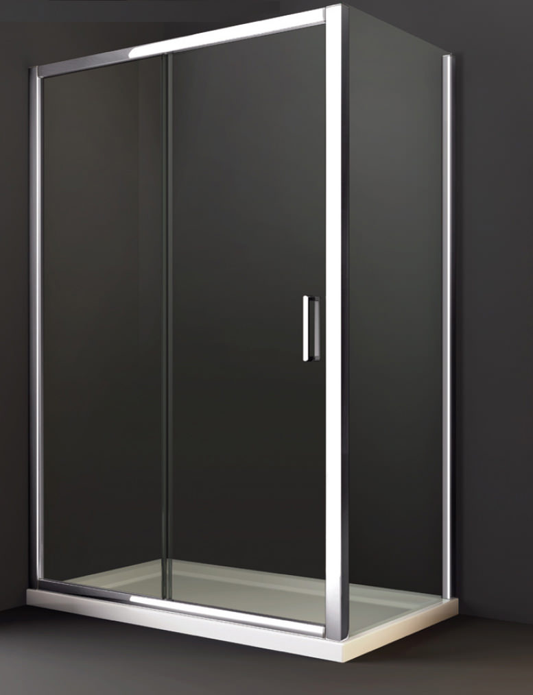 Merlyn 8 series sliding shower door 1200mm for 1200mm shower door sliding