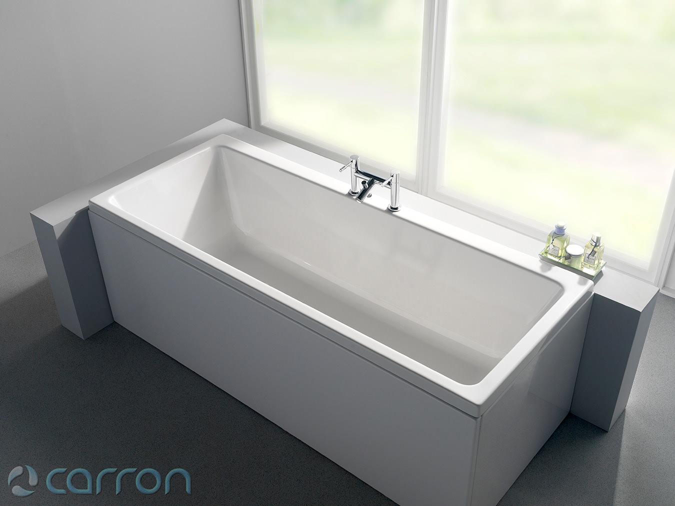 Carron Quantum 5mm Acrylic Single Ended Bath 1500 x 700mm
