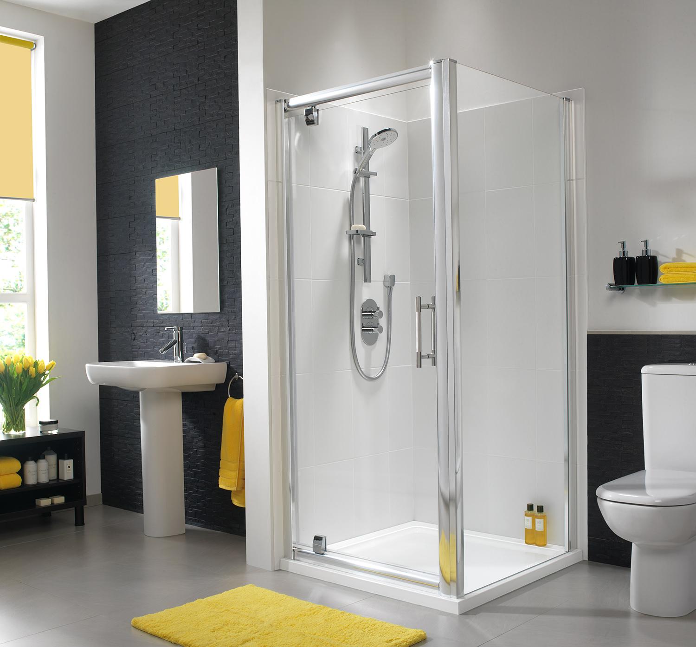 Twyford Es400 Pivot Shower Enclosure Door