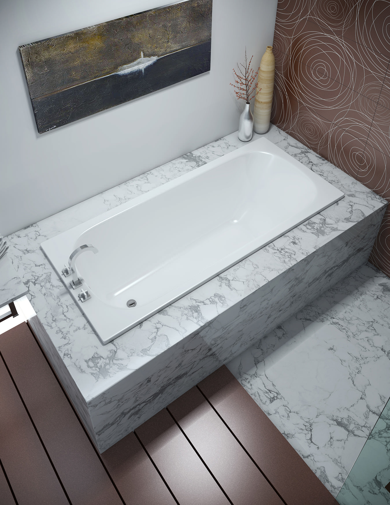 Bette Classic Single Ended Rectangular Super Steel Bath 1700 X 750mm