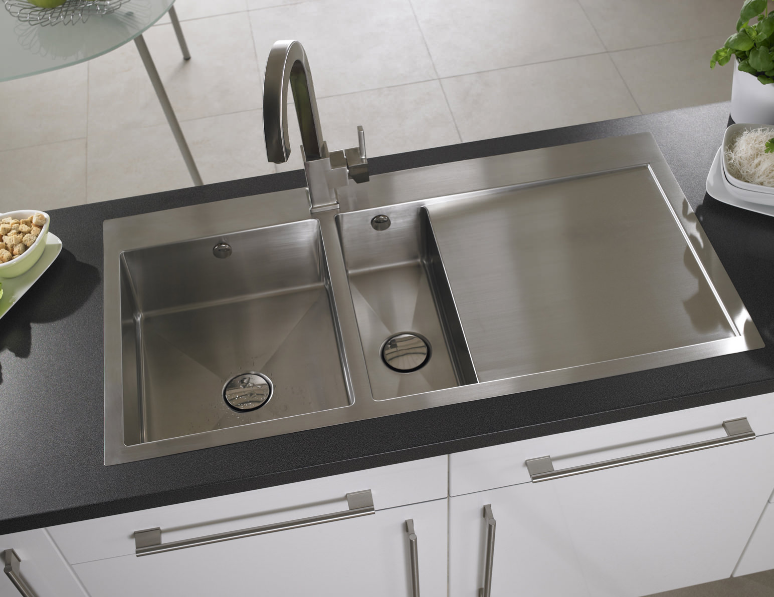 Astracast Vantage Stainless Steel Inset Sink And Accessory - 1.5B