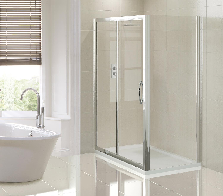 Aquadart Venturi 8 1500mm Sliding Shower Door