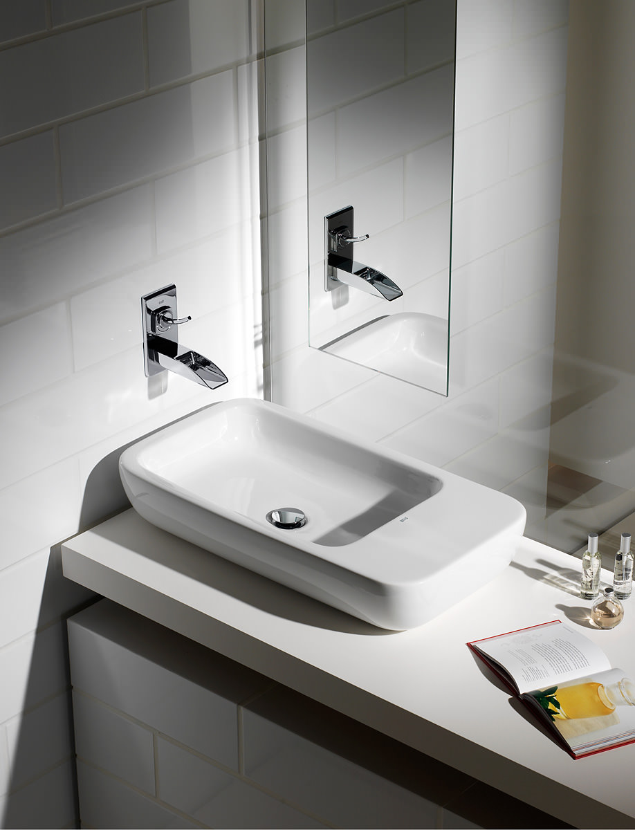 Roca Bathroom Accessories Roca Evol Wall Mounted Basin Mixer Tap