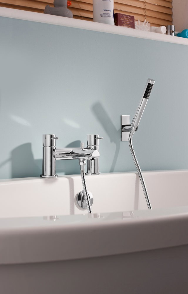 Crosswater Kai Lever Deck Mounted Bath Shower Mixer Tap