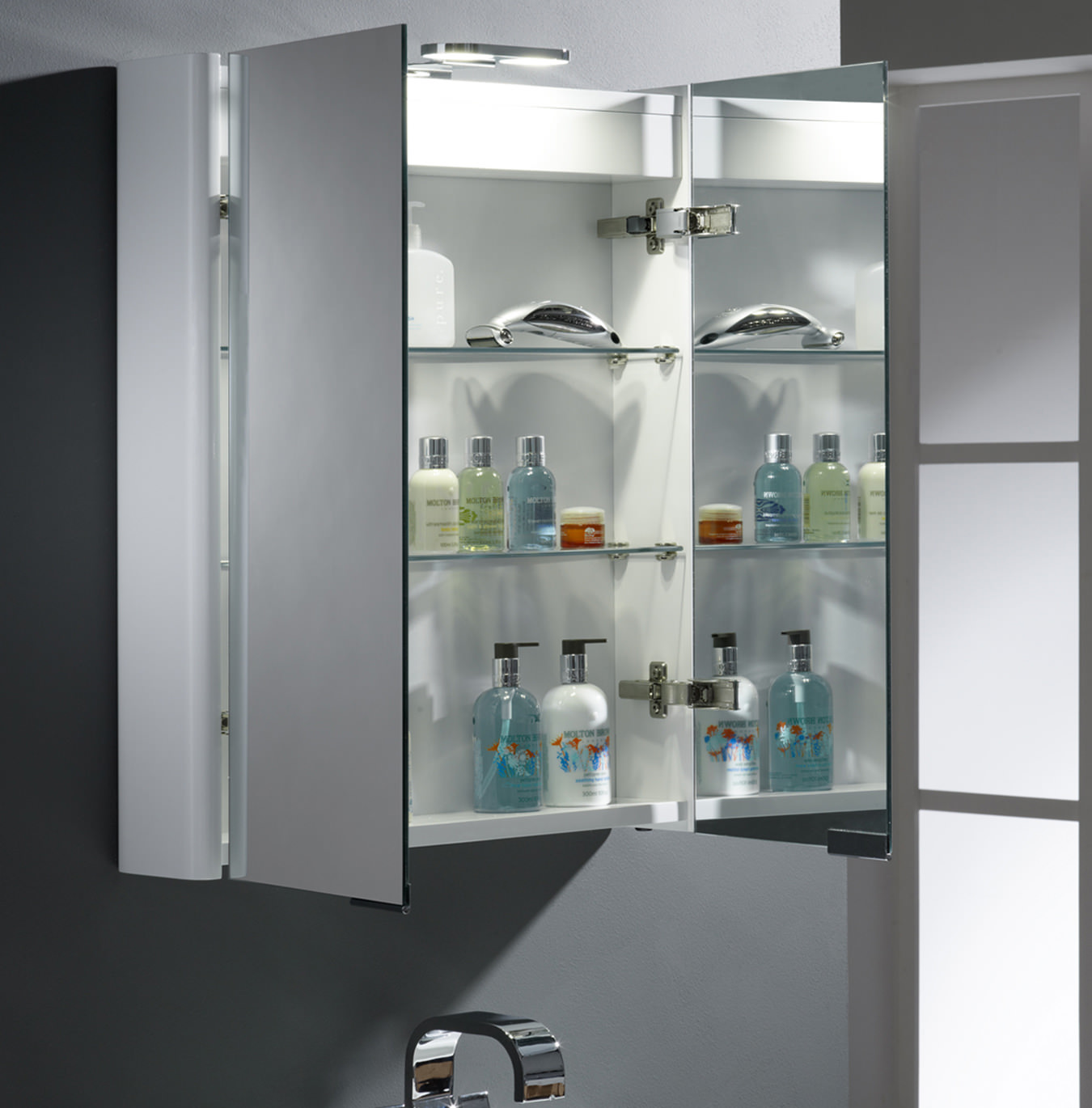 Roper rhodes definition entity double mirror wooden cabinet for Bathroom cabinets 1800mm