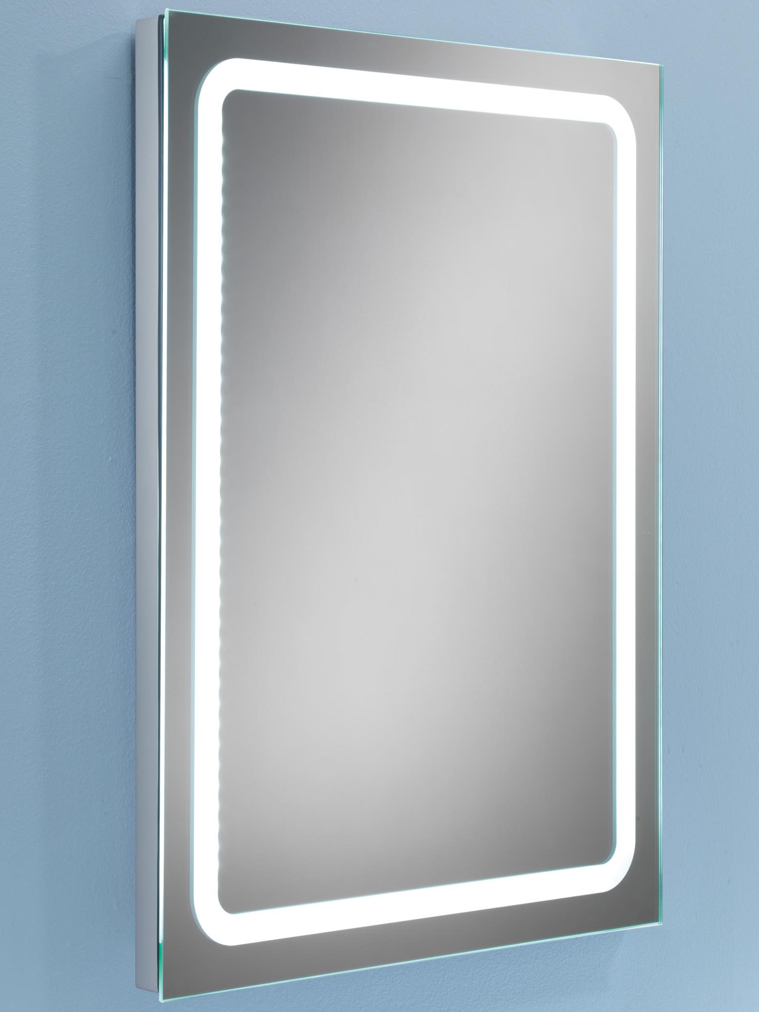 Hib Scarlet Steam Free Led Back Lit Bathroom Mirror 800 X