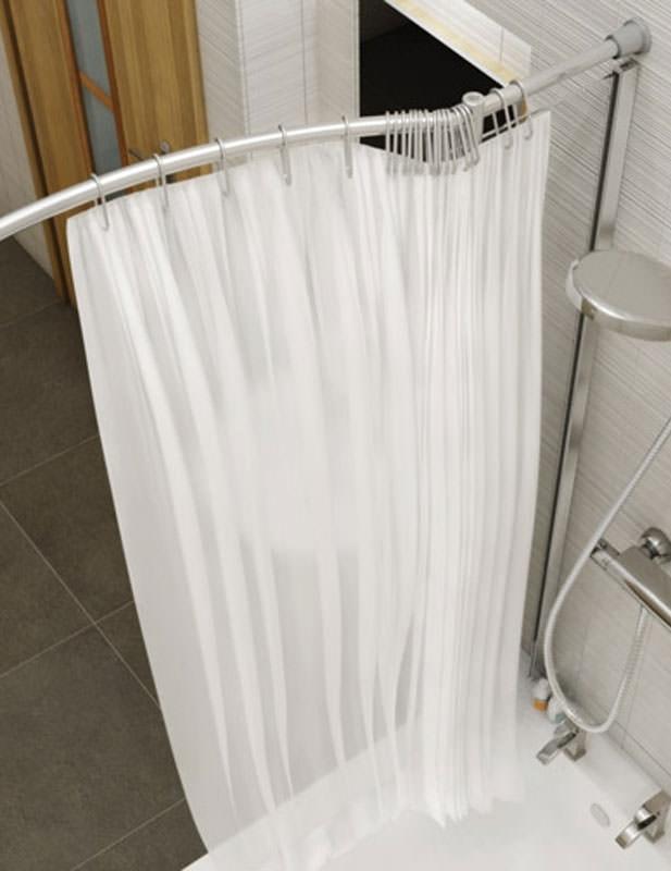Kudos Inspire Over Bath Shower Panel 1556 x 350mm With Corner Rail