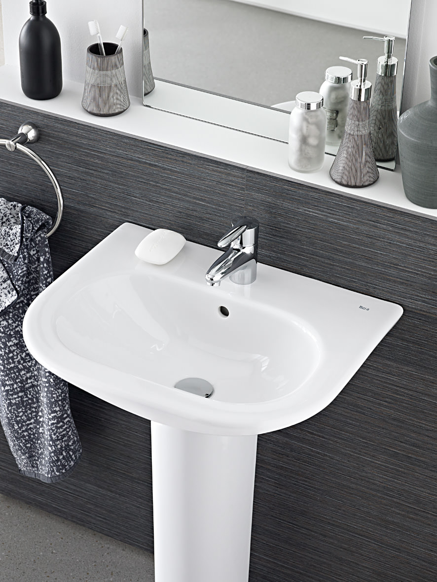 Roca Nexo 550 x 440mm Wall Hung Basin With 1 Taphole