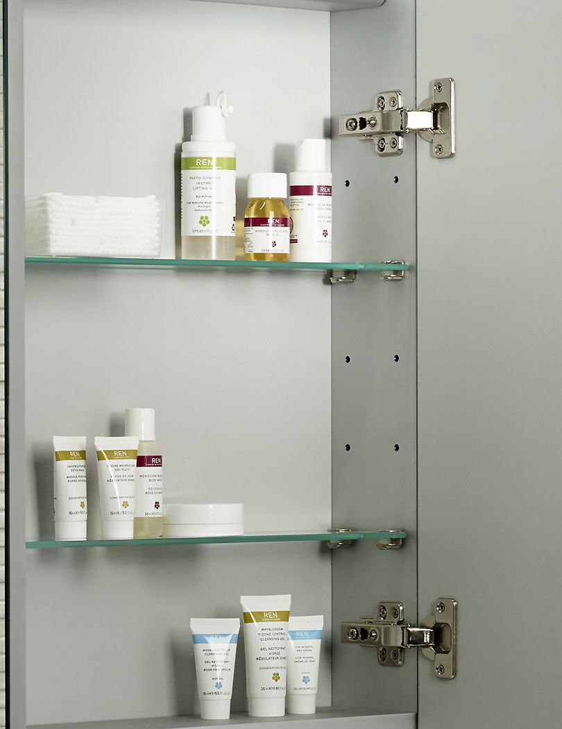 Tavistock Conduct Single Door Mirror Cabinet Integrated