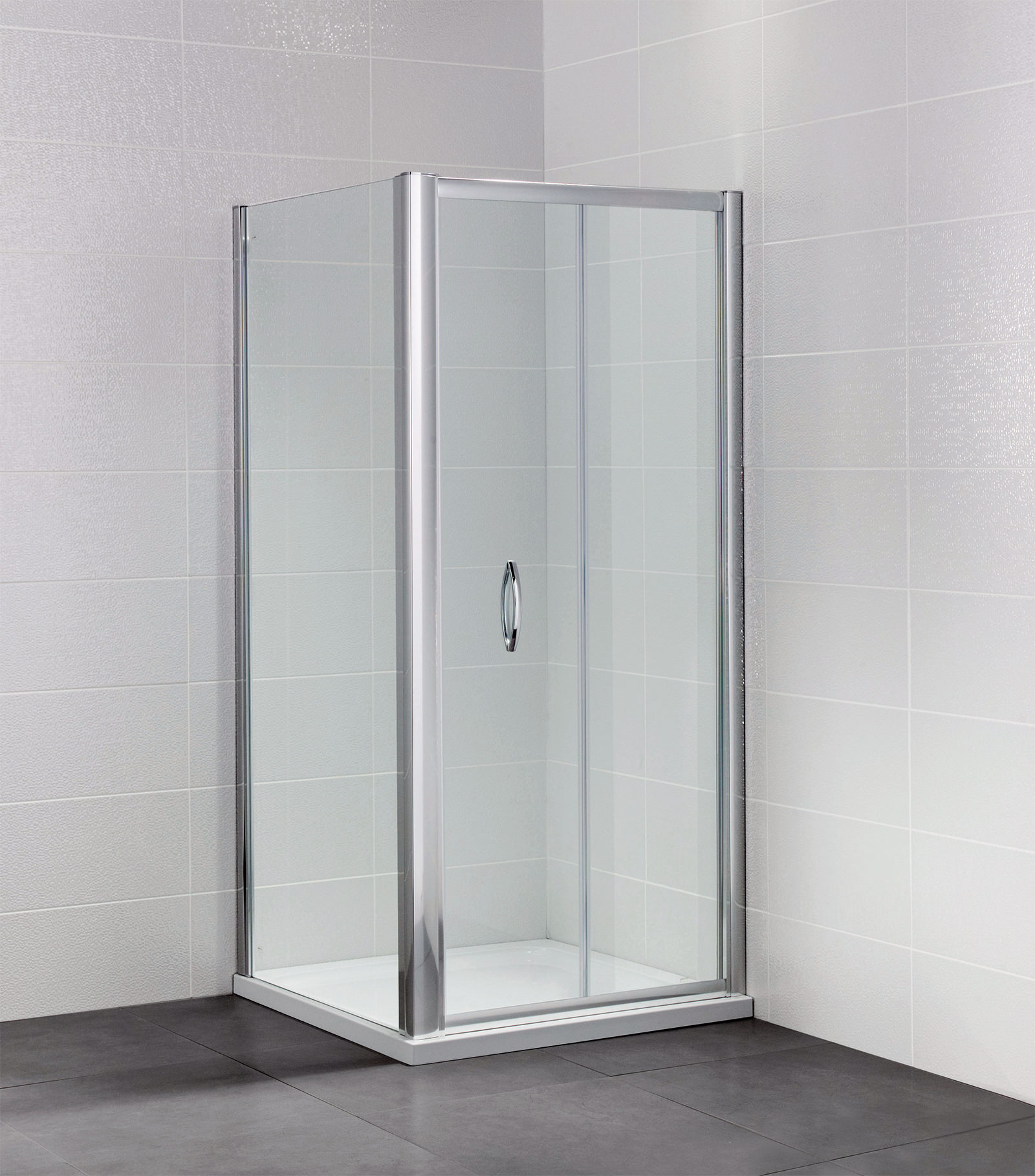 April Identiti2 700 760mm Bifold Shower Door