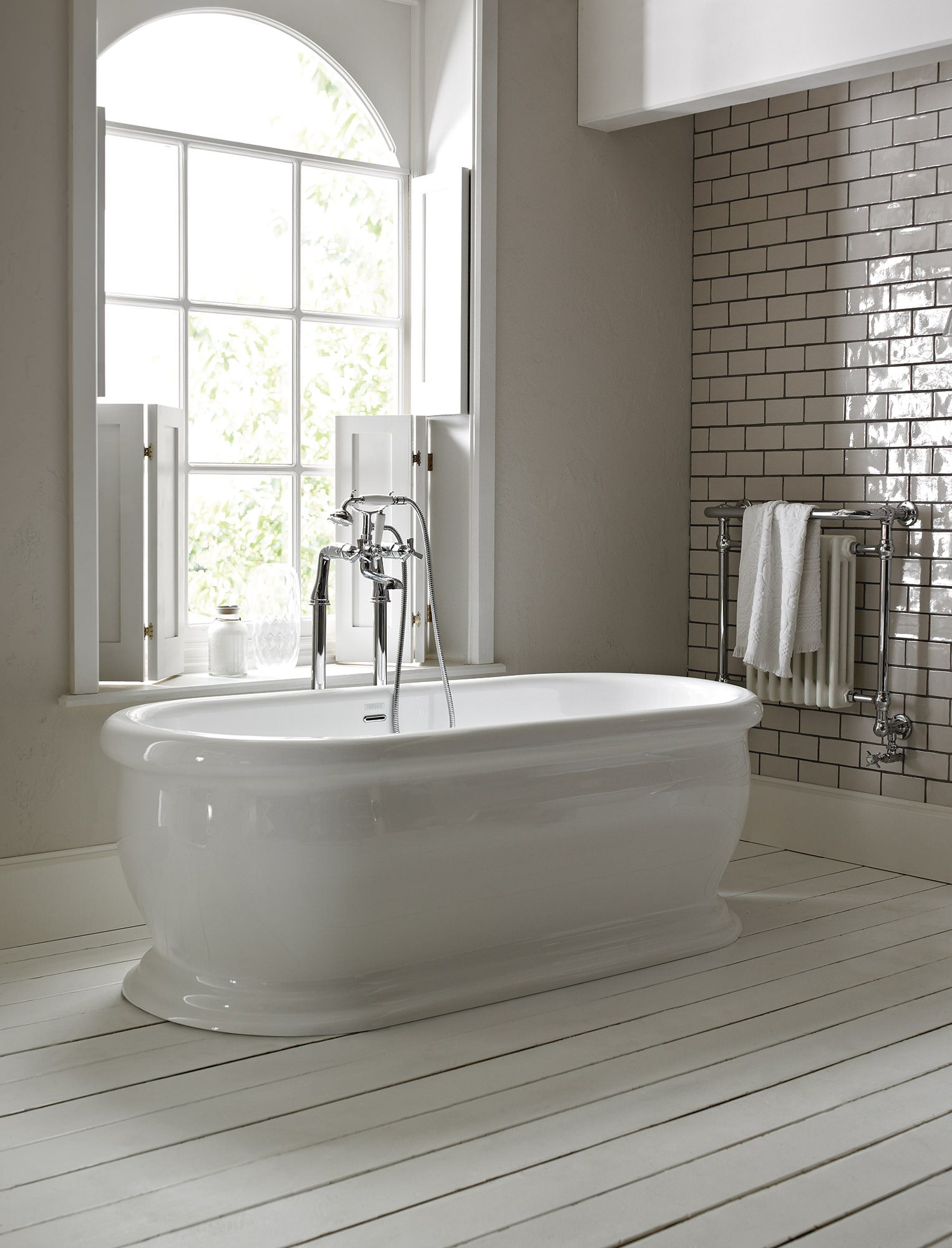 Additional Image Of Heritage Victoria Traditional Bathroom Suite   1