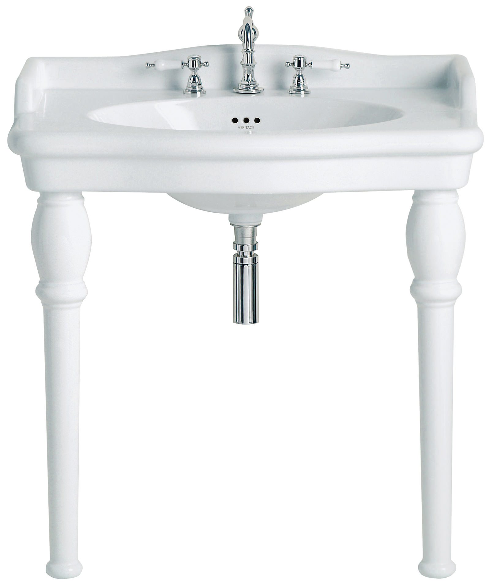Traditional bathroom sink - Alternate Image Of Heritage Victoria Traditional Bathroom Suite 2