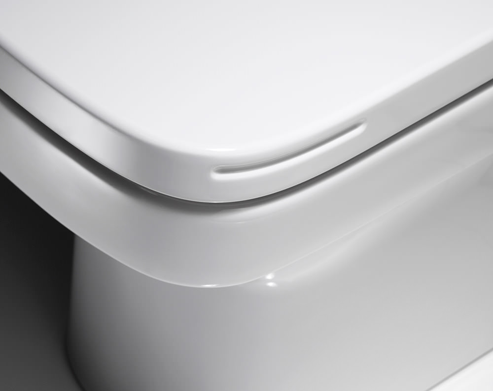 Roca dama n open back close coupled eco wc pan with for Cisterna roca dama