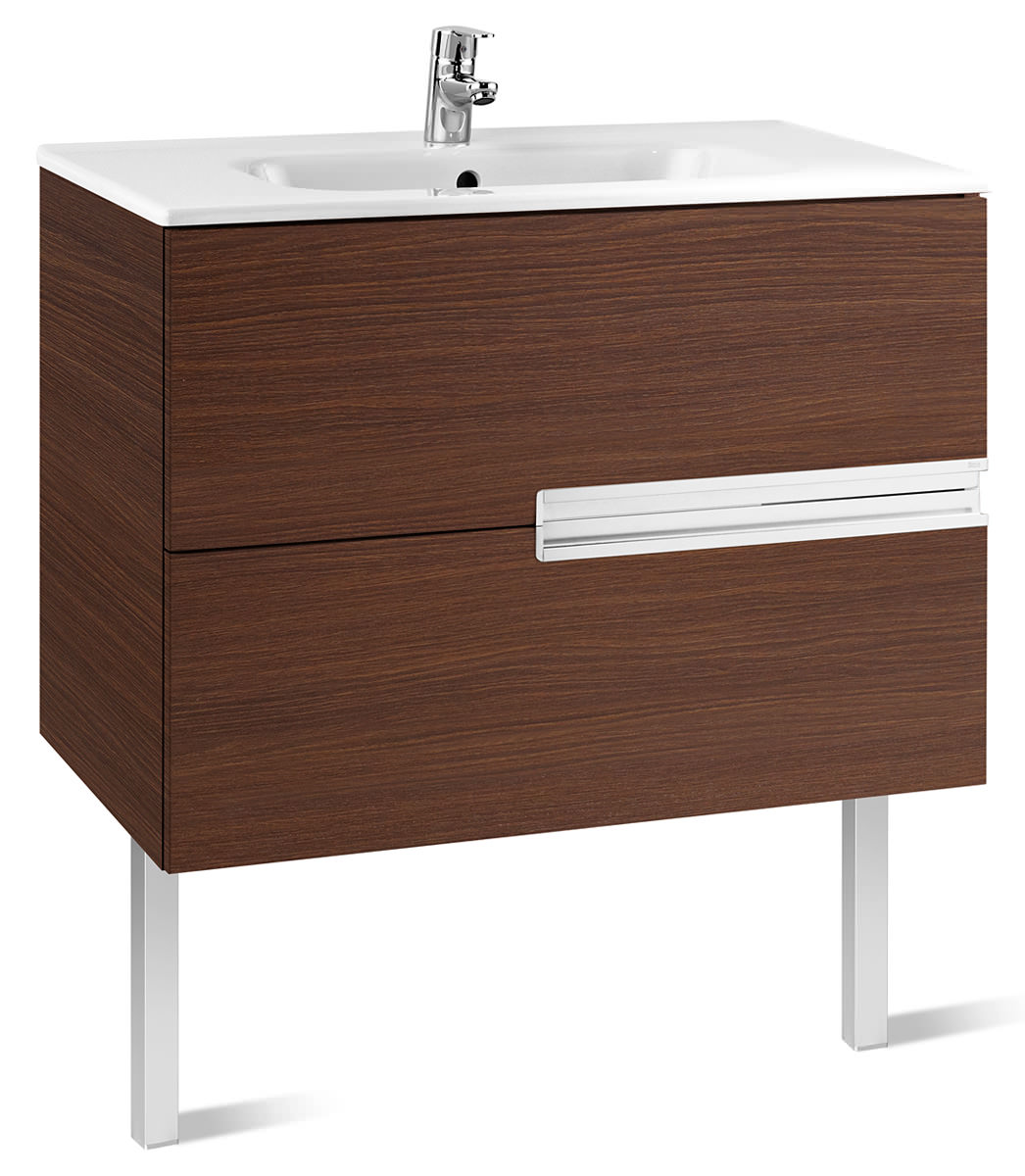 Roca victoria n unik basin and unit with 2 drawers 1000mm for Mueble unik victoria