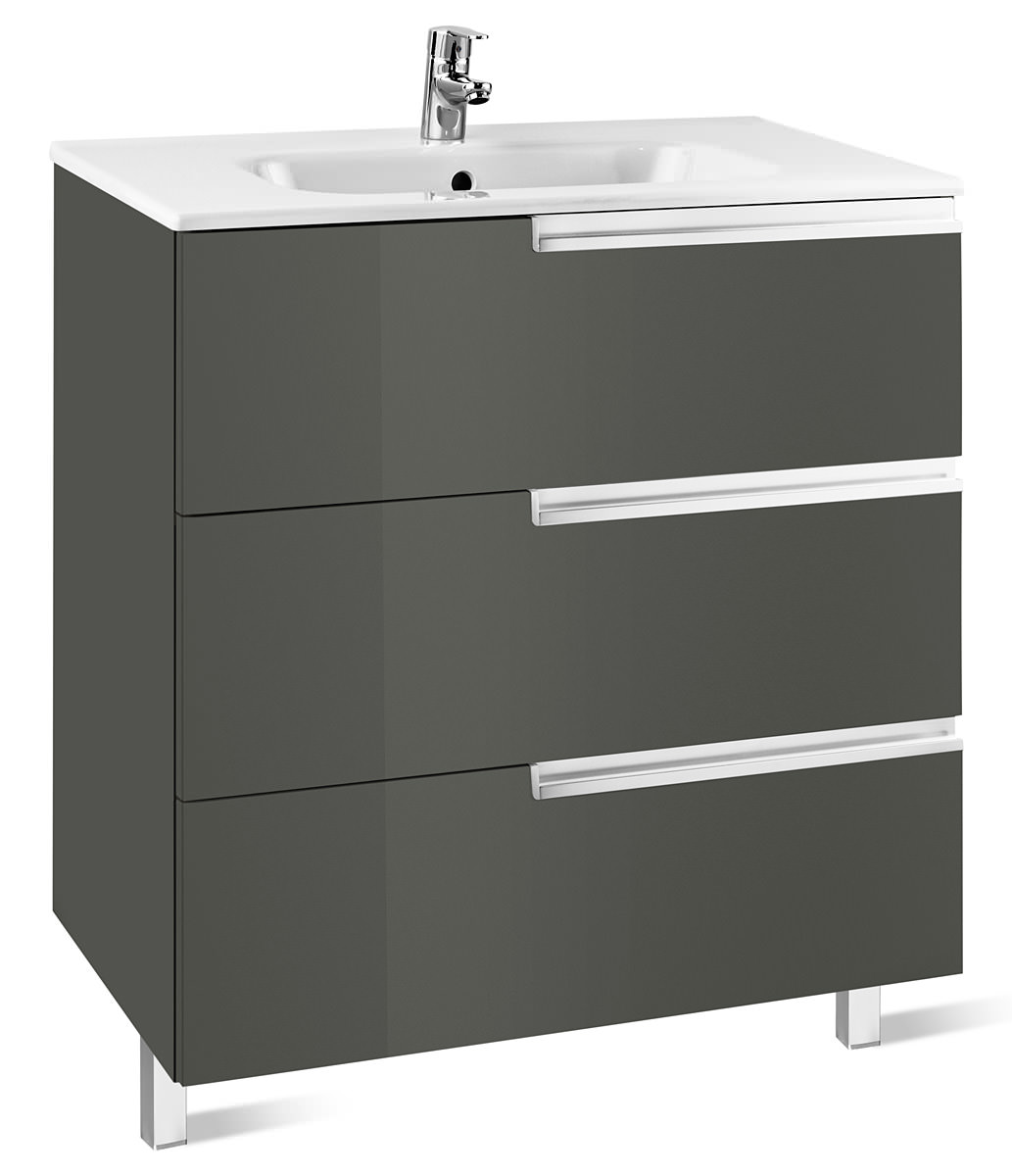 Roca Victoria N Unik Basin And Unit With 3 Drawers 600mm