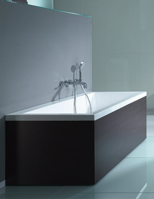 Duravit Vero Double Ended Rectangular Bath With Support Frame