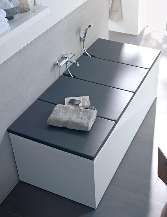 Duravit Vero 1800 x 800mm Rectangular Bath With Support frame