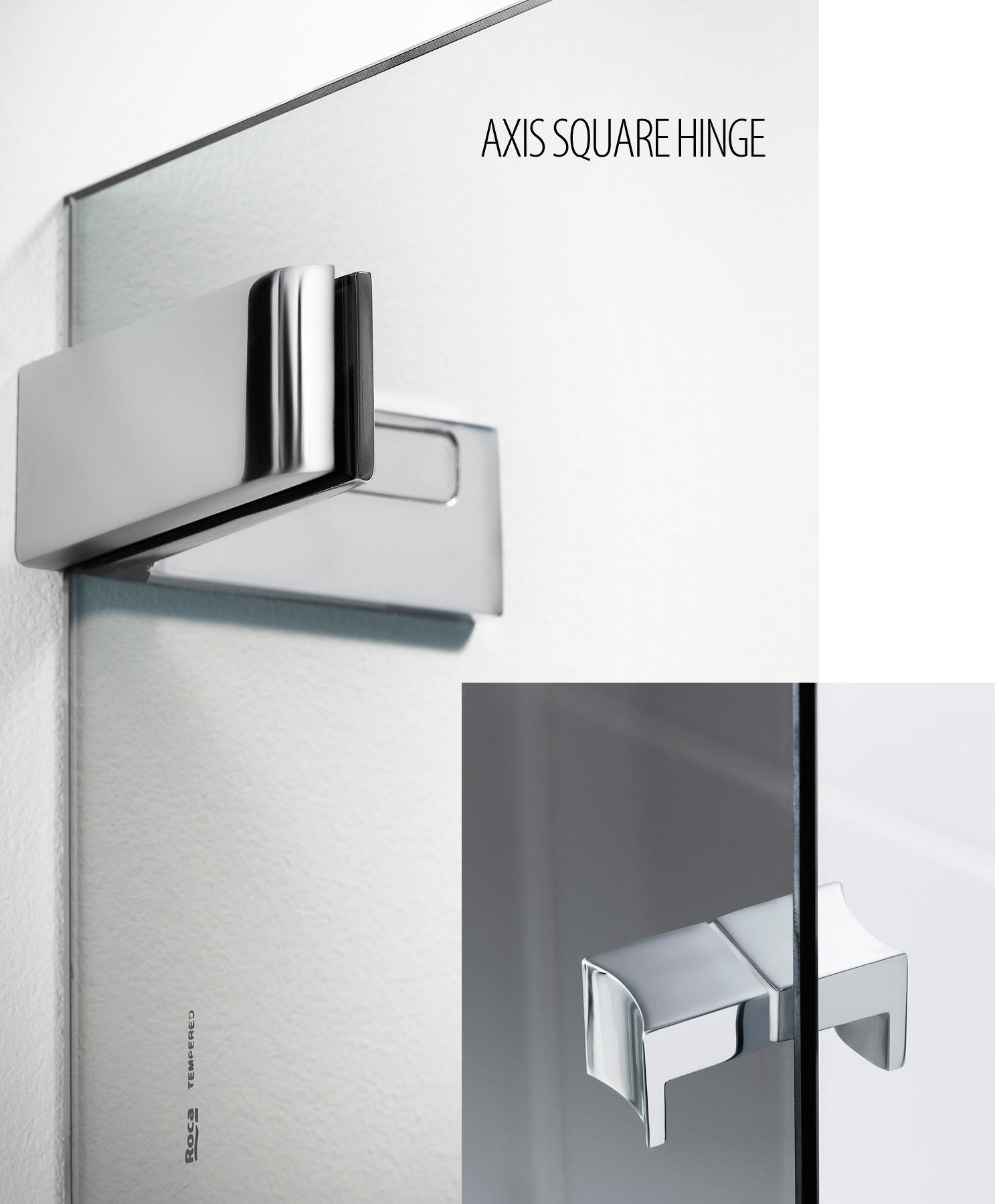 Roca Bathroom Accessories Roca Axis Pef 1200mm Lh Pivot Door With Arco Hinges For Recess