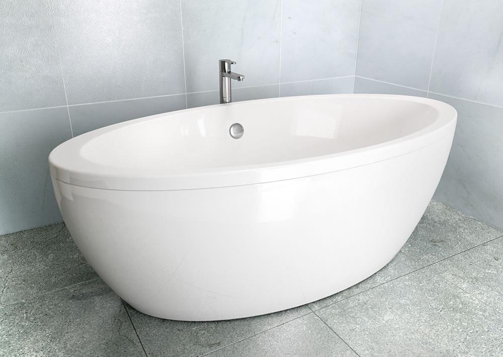 cleargreen freestark double ended freestanding bath 1740 x 870mm. Black Bedroom Furniture Sets. Home Design Ideas
