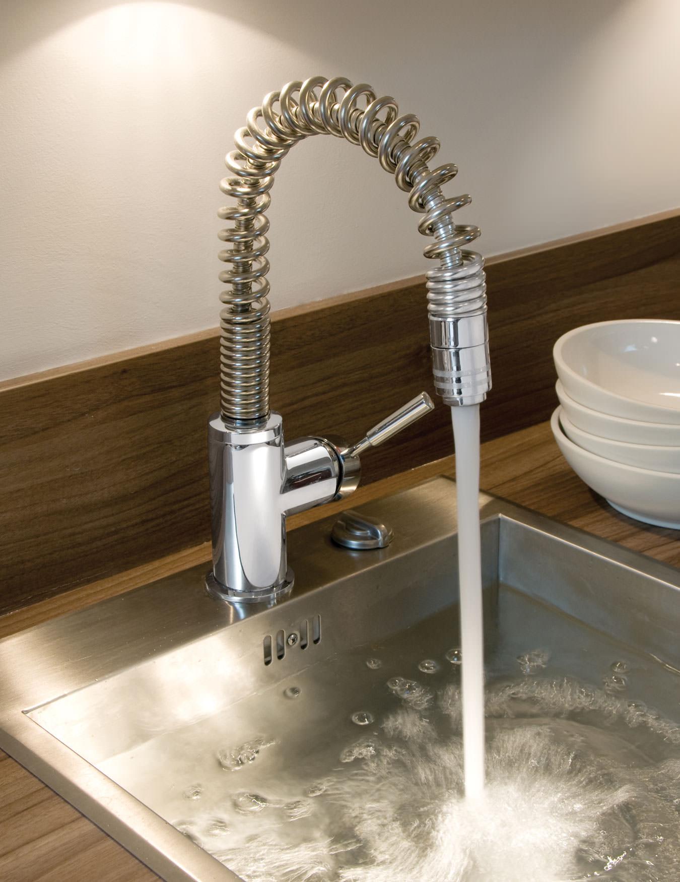 Vado Eli Deck Mount Kitchen Mono Sink Mixer Tap With
