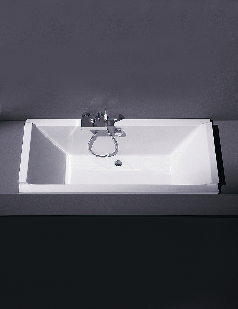 Duravit Starck 1800x800mm Rectangular Double Ended Built-In Bath