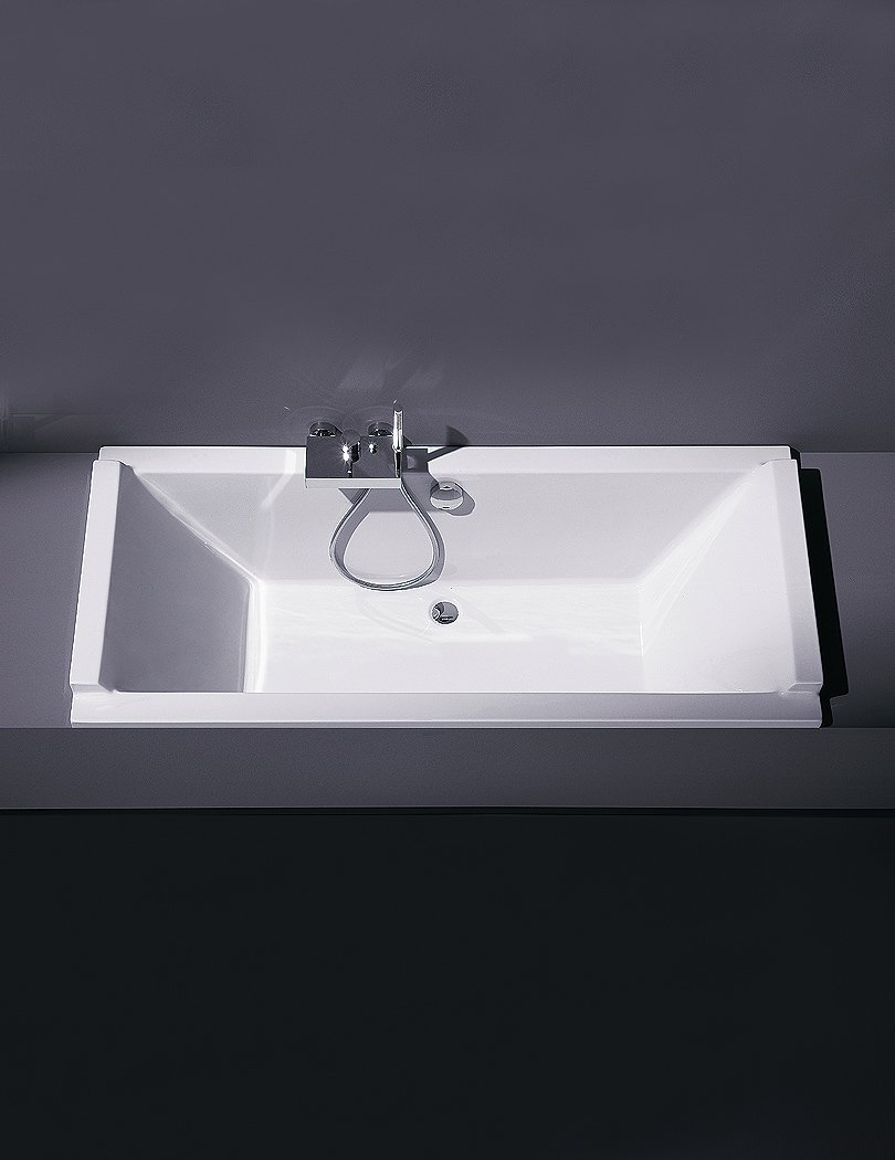 Duravit Starck 1800 x 900 x 460mm Double Ended Built-In Bath