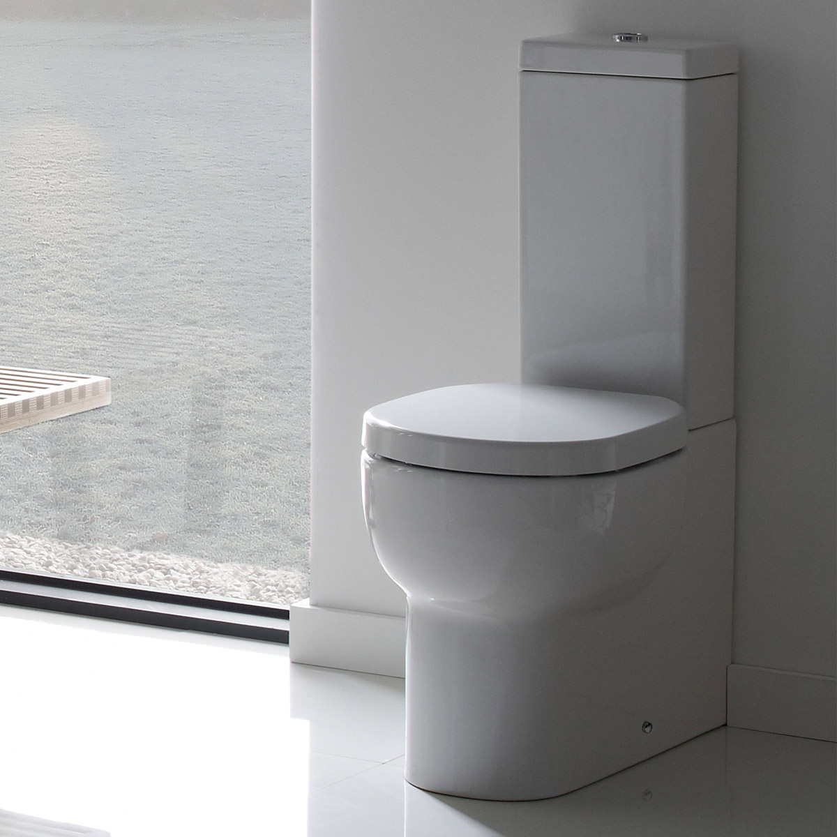 How Much To Fit A Bathroom Suite: Roper Rhodes Zest Close Coupled WC With Cistern And Seat 650mm