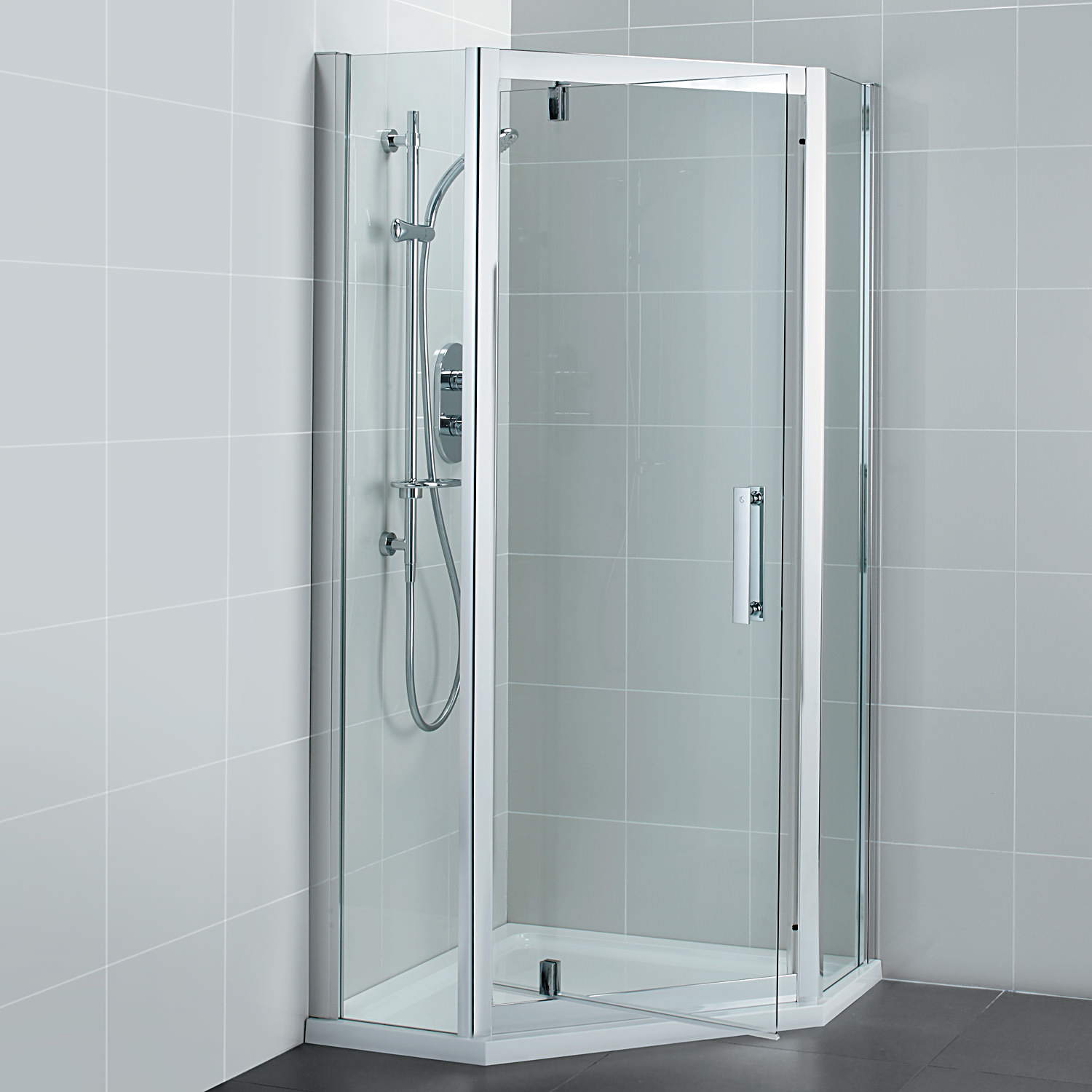 Ideal Standard Synergy 800 X 1900mm Pivot Door Pentagon