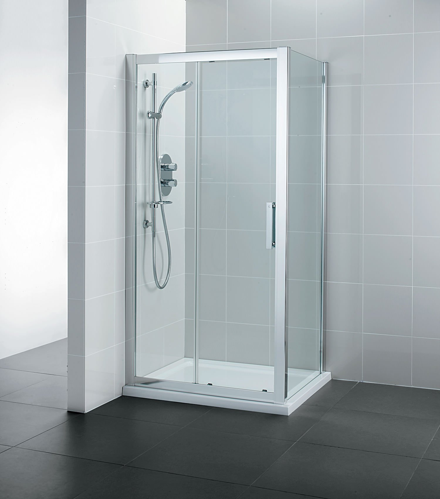 Ideal Standard Synergy Sliding Shower Door 1200mm