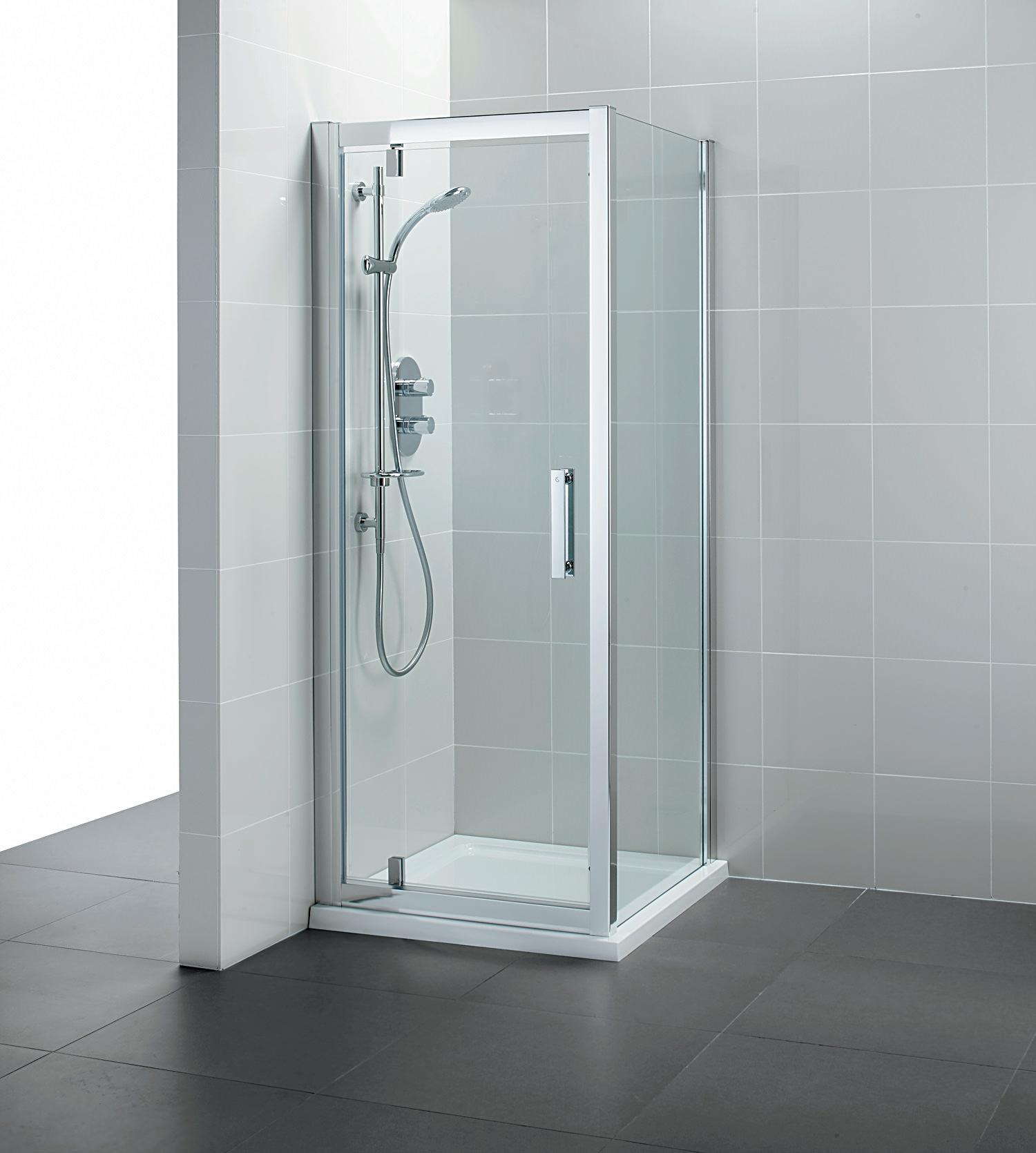 Ideal Standard Synergy Pivot Alcove Shower Door 760mm