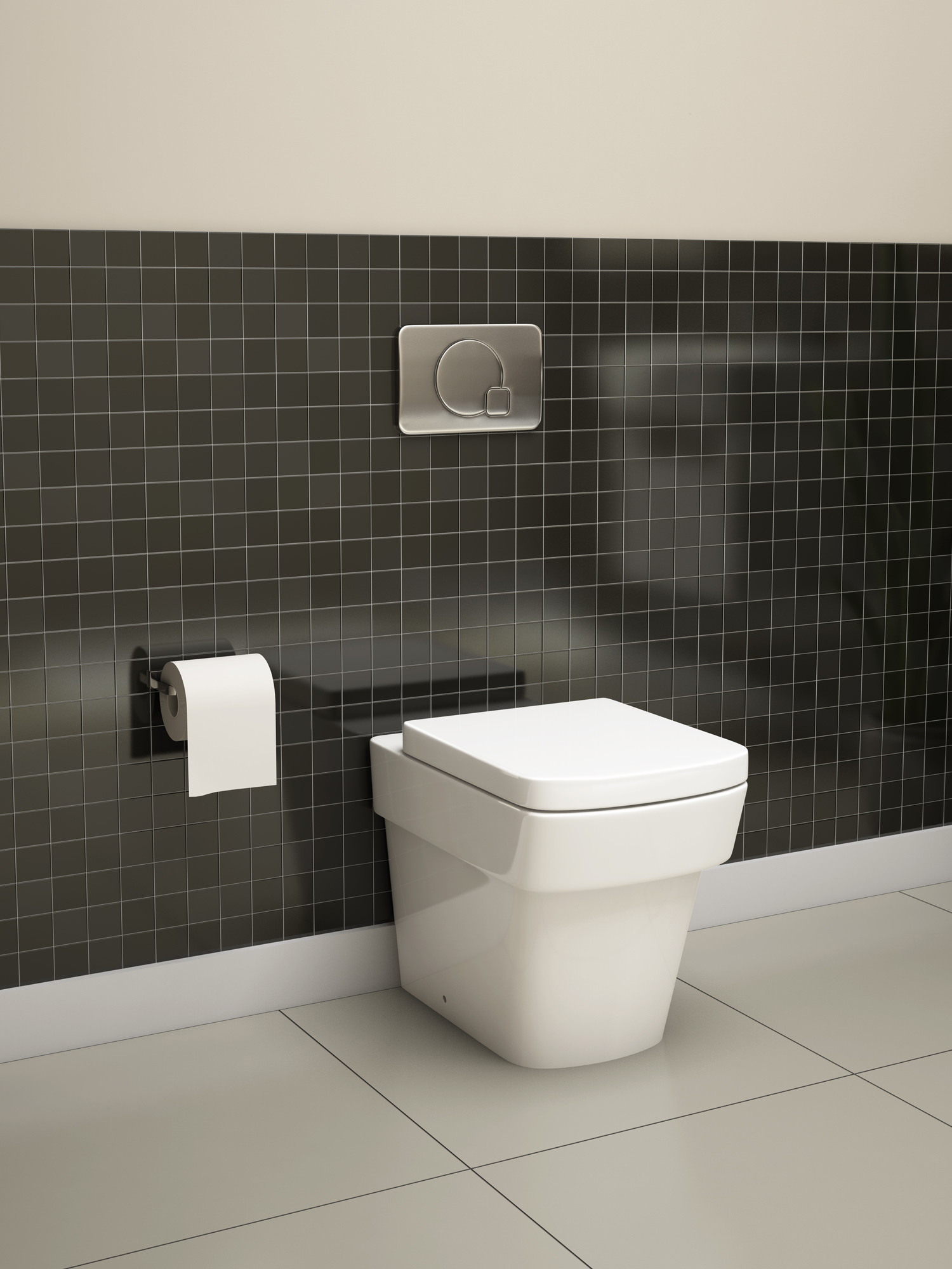 Pura Bloque Back To Wall Wc Pan And Soft Close Seat 540mm