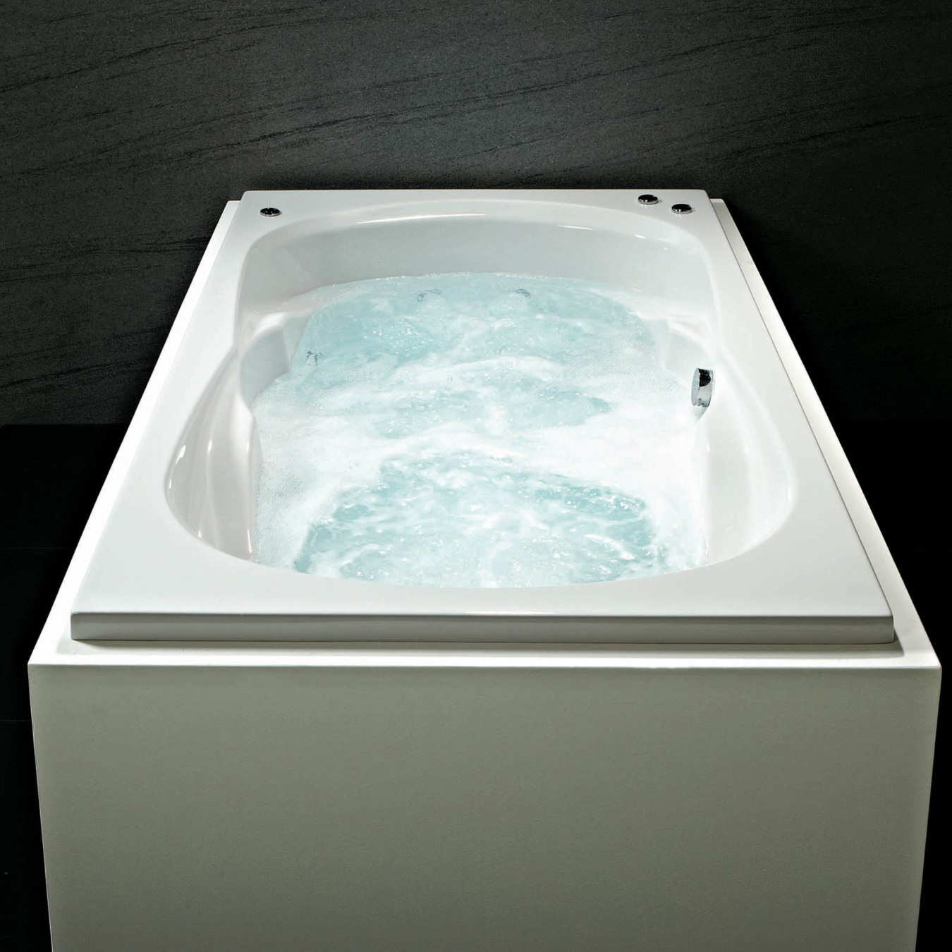 Phoenix Ancona Amanzonite 1800 x 1100mm Double Ended Whirlpool Bath ...
