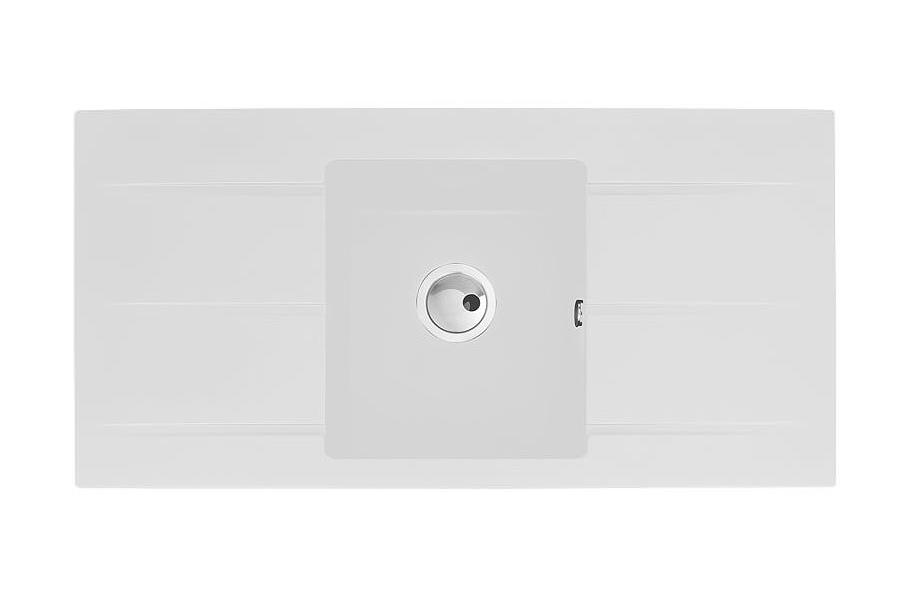 Abode Zero 1 0 Bowl With Double Drainer Granite Kitchen Sink