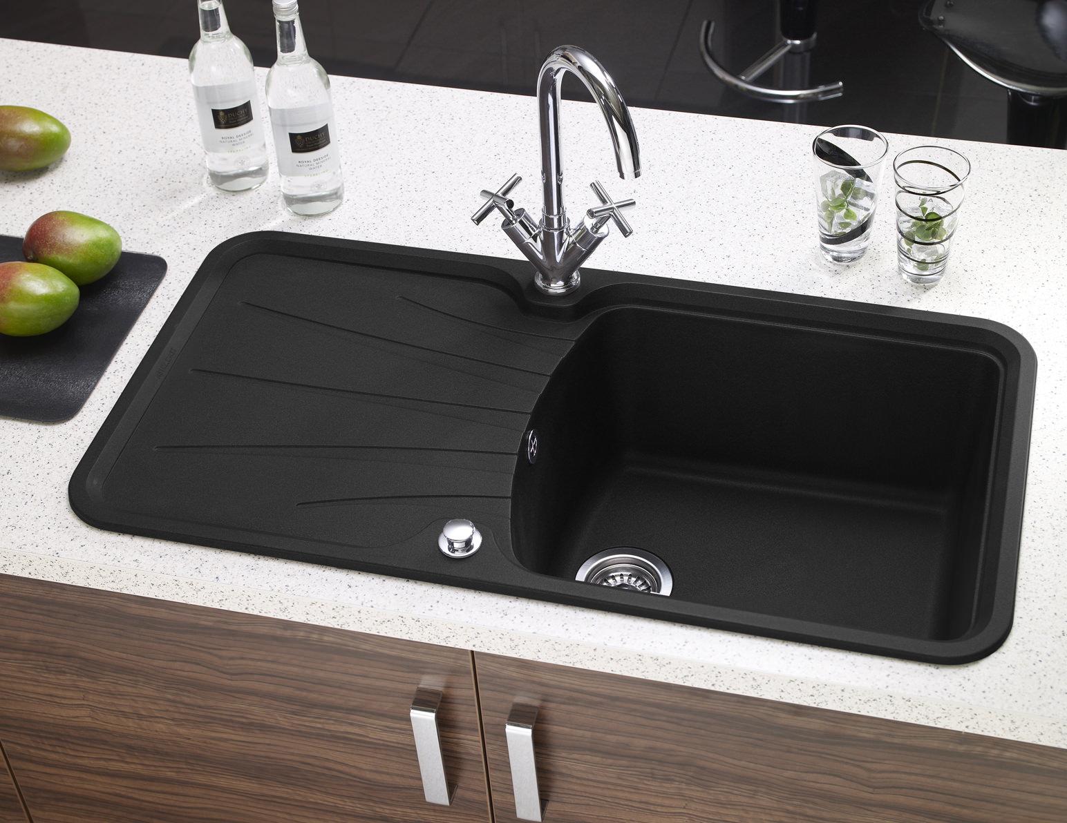 Astracast Korona Composite ROK Metallic Inset Sink - 1.0 Bowl