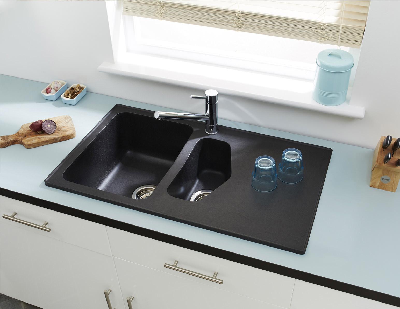 Composite Granite Sinks Vs Stainless Steel Miseno Kitchen