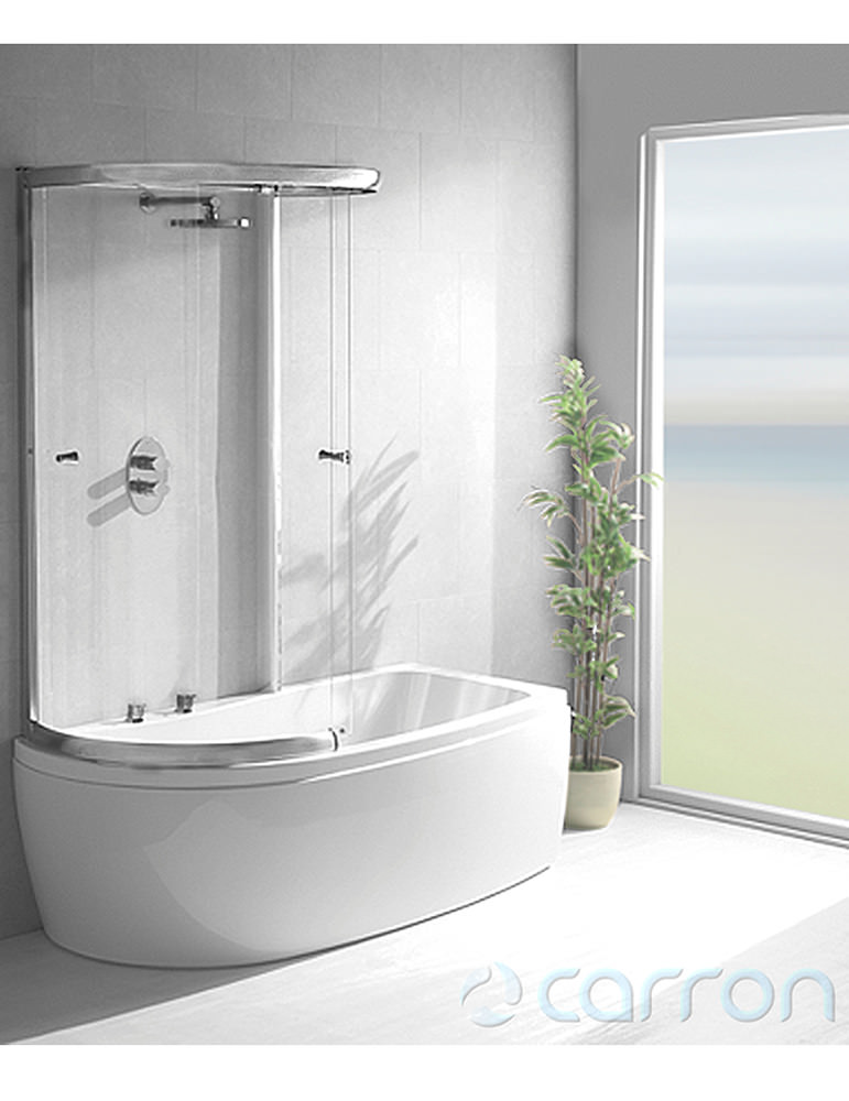 carron agenda double ended shower bath 1700 x 700 820mm concept double ended bath double ended baths splashdirect