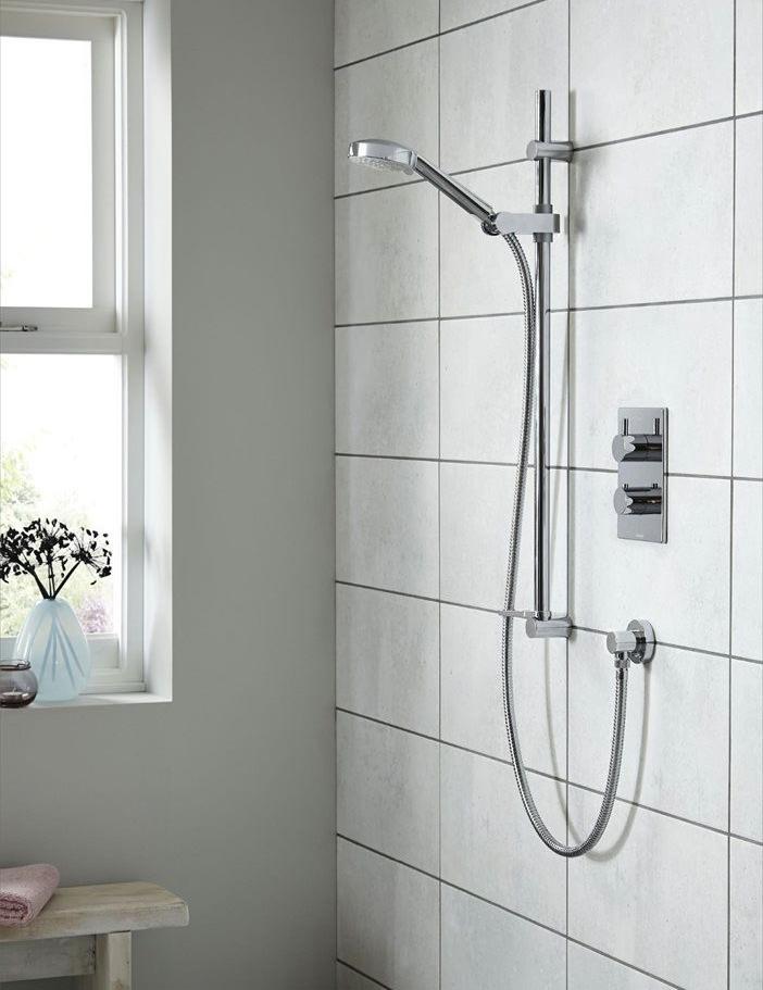 Aqualisa Dream DCV Concealed Mixer Shower With Adjustable Head