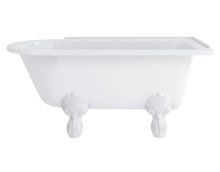 burlington hampton 1500x750mm roll top showering bath luxury 4 converted stable block in cranbrook kent