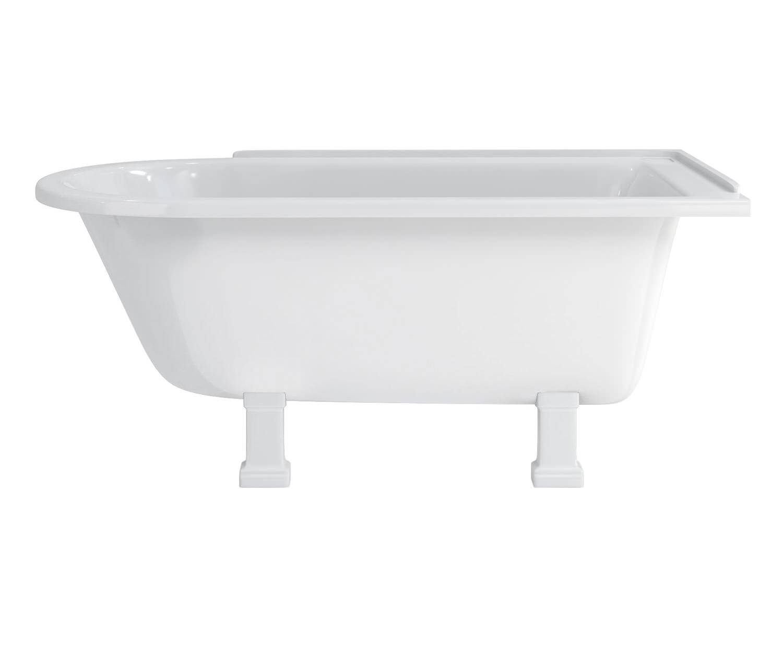 burlington hampton 1500x750mm roll top showering bath burlington hampton 1500x750mm roll top showering bath