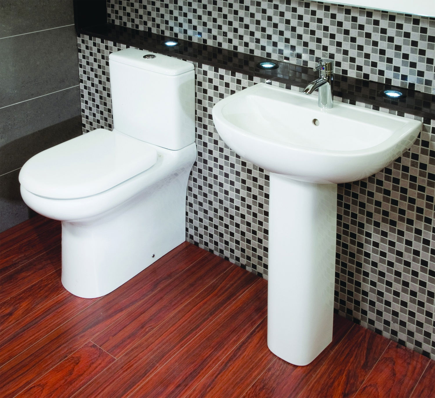 Additional Image Of RAK Compact Deluxe Close Coupled Fully Back To Wall WC  Pack 625mm