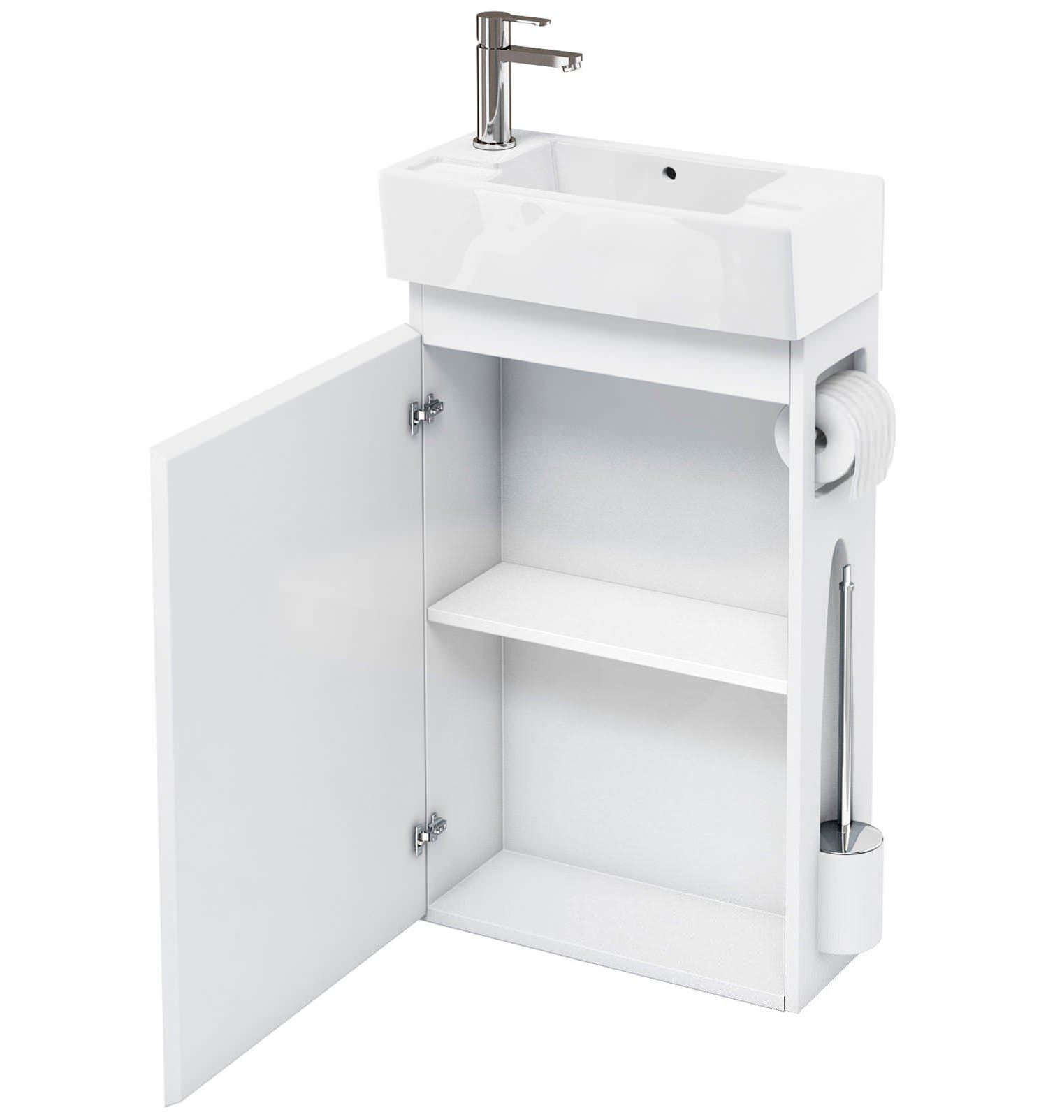 All In One Bathroom Britton All In One Floor Standing Unit With Left Hand Basin