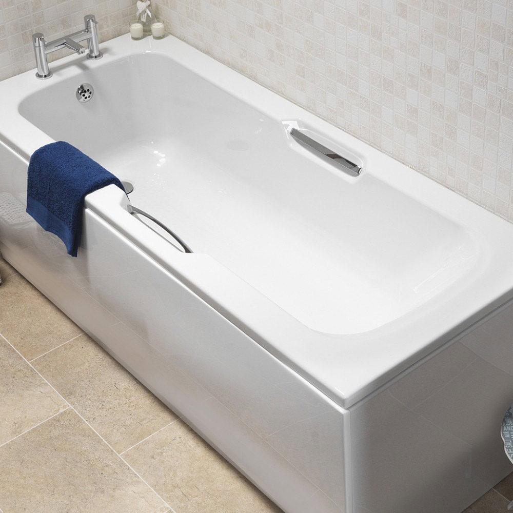 Lovely Acrylic Baths With Handles Contemporary - Bathtub for ...