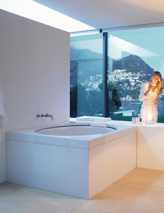 Duravit Blue Moon 1400mm Square Bathtub With Support Frame - 700143