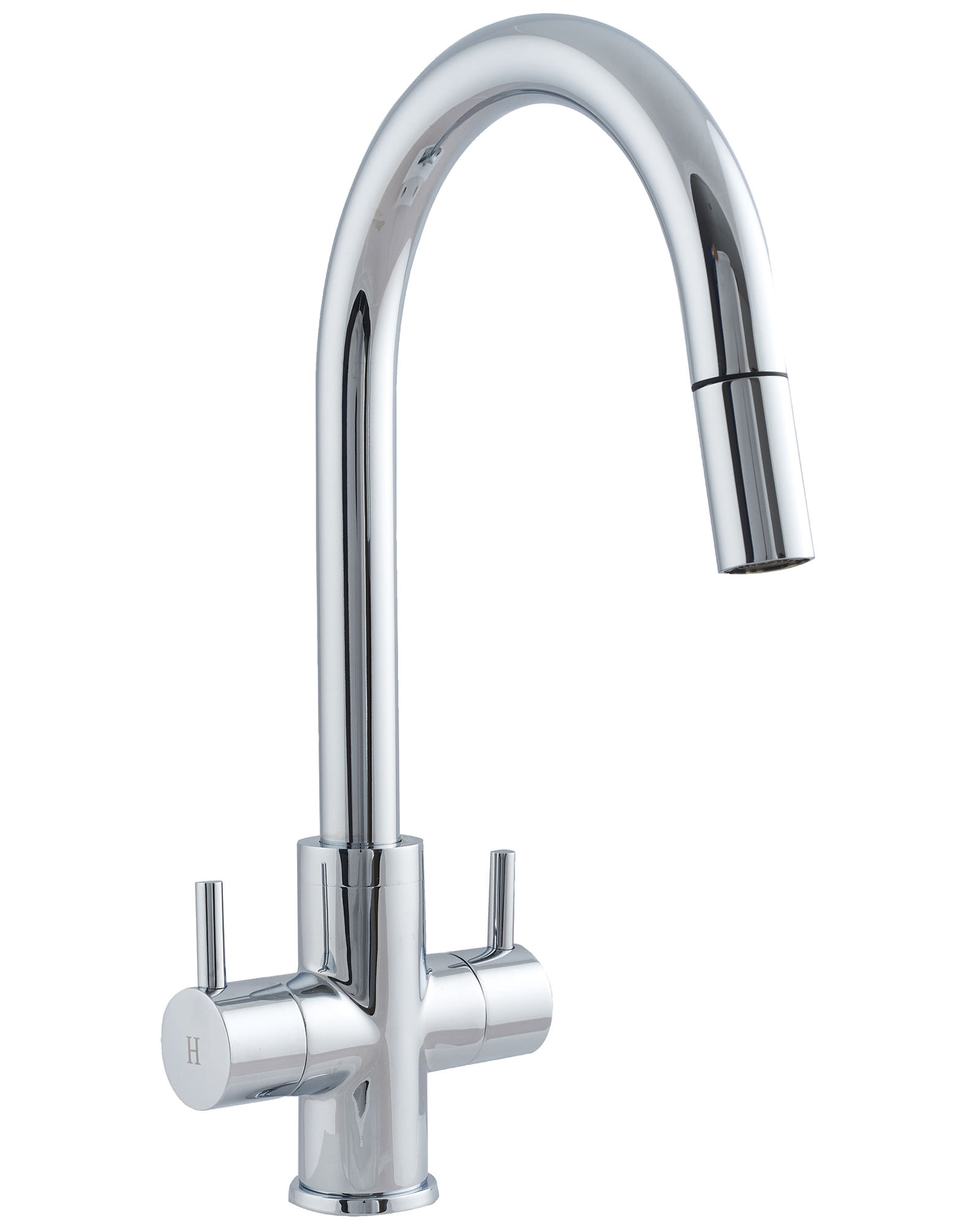 Monobloc Kitchen Tap With Pull Out Spray