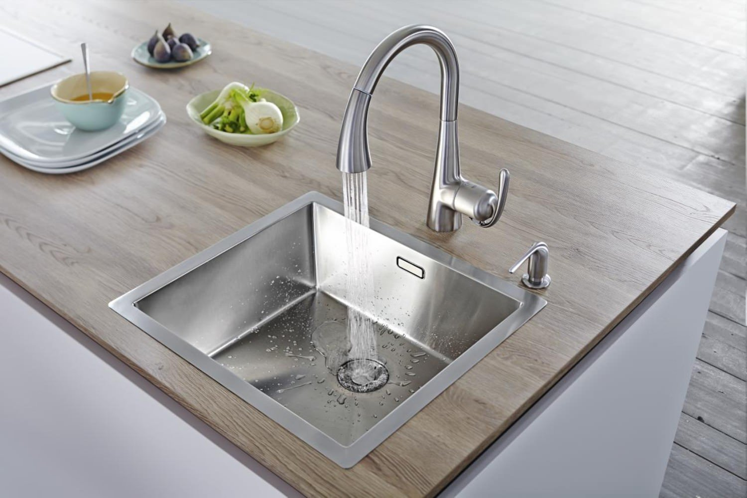 Kitchen Sink Mixer ~ Grohe zedra kitchen sink mixer tap stainless steel