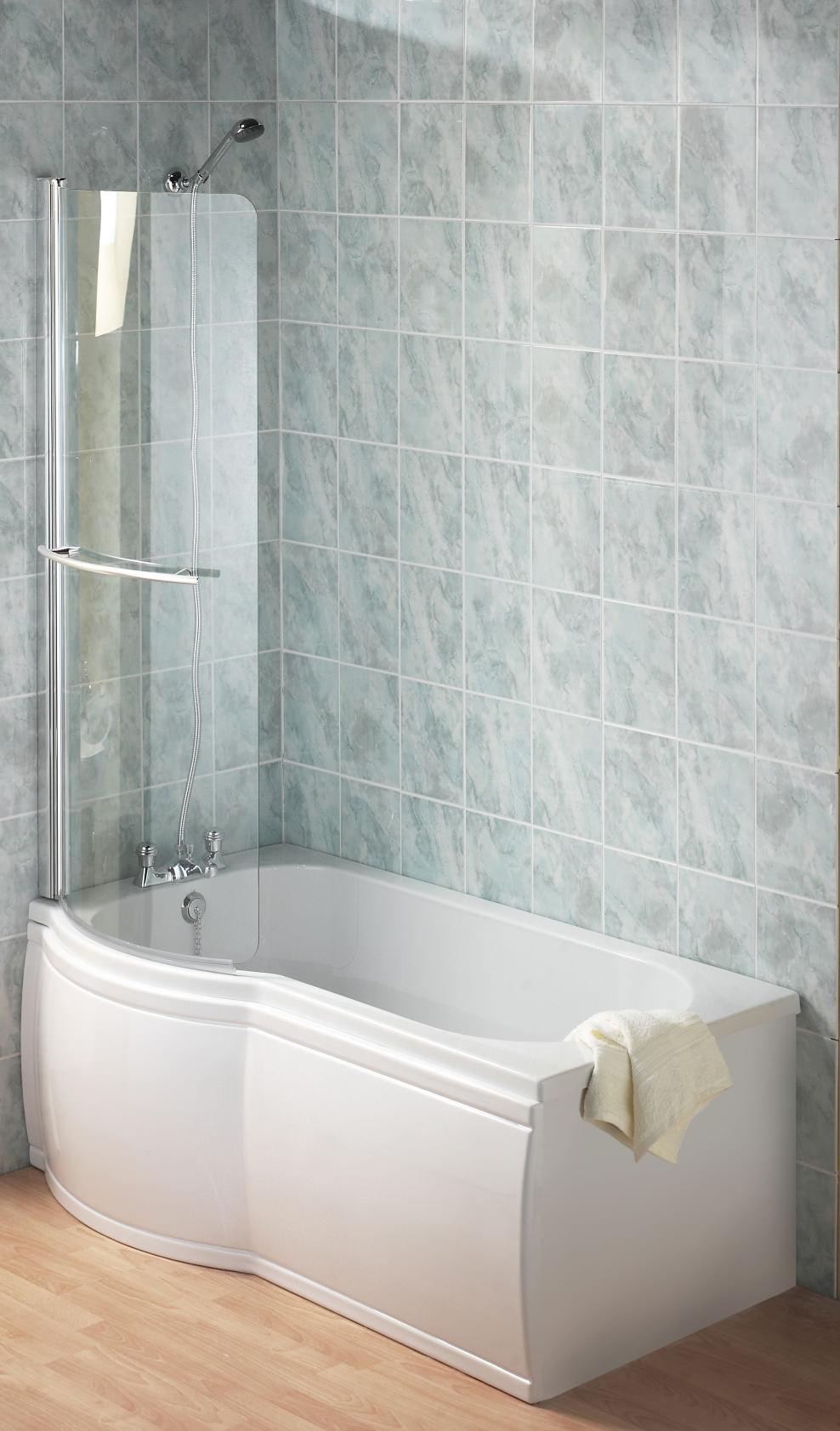 twyford galerie optimise left hand offset shower bath 1700mm twyford galerie optimise left hand offset shower bath 1700 x 750 850mm