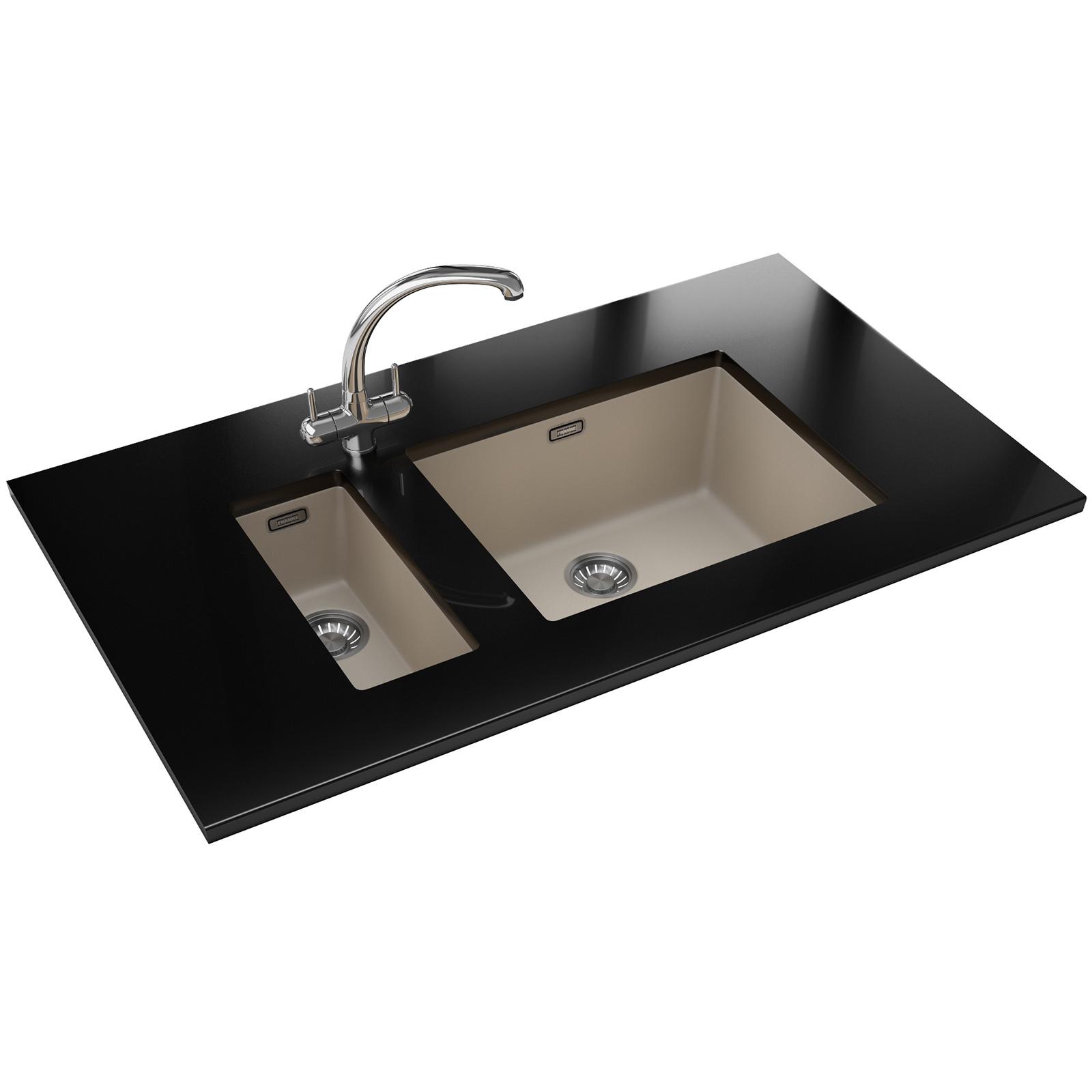 Franke Sirius SID 110 50 Tectonite 1.0 Bowl Coffee Undermount Sink
