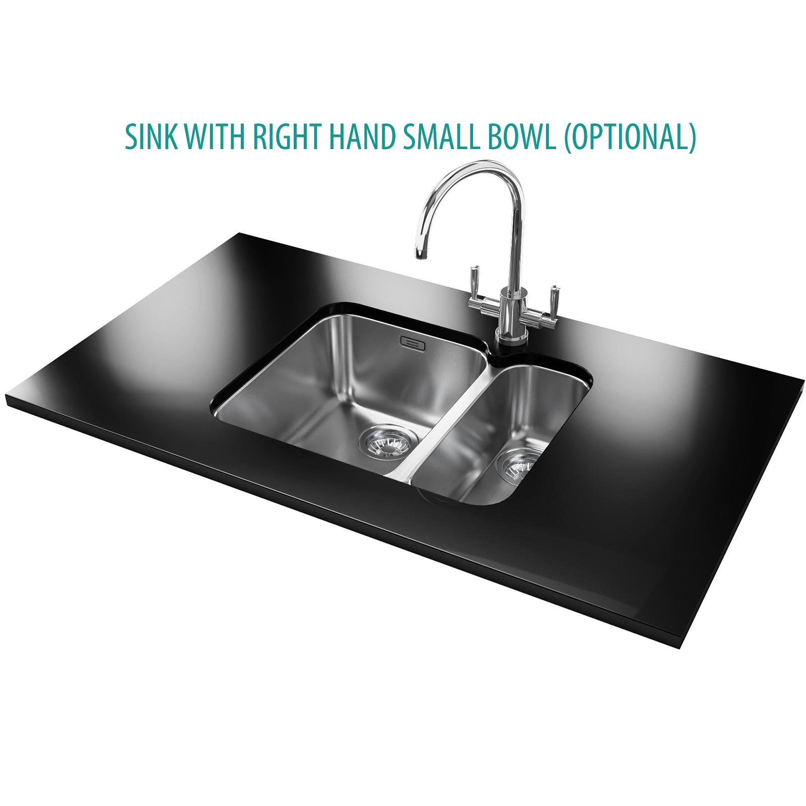 Franke Ariane ARX 160D Stainless Steel 1.5 Bowl Undermount Sink
